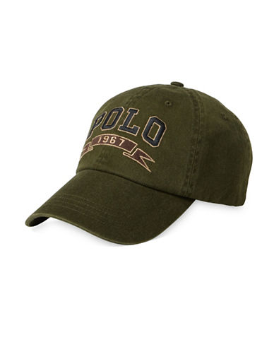 Polo Ralph Lauren Signature Sports Cap-GREEN-One Size