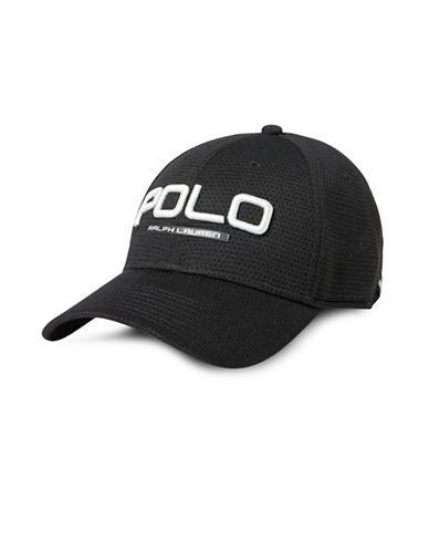 Polo Ralph Lauren Performance Mesh Baseball Cap-BLACK-One Size