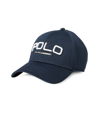 Polo Ralph Lauren Performance Mesh Baseball Cap-BLUE-One Size