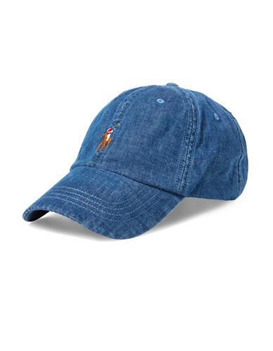 Polo Ralph Lauren Denim Sports Cap-DENIM-One Size