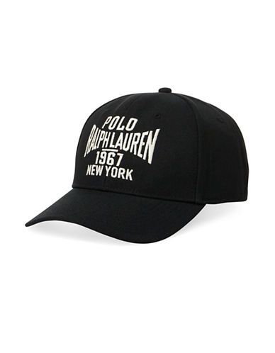 Polo Ralph Lauren Twill Athletic Cap-POLO BLACK-Large