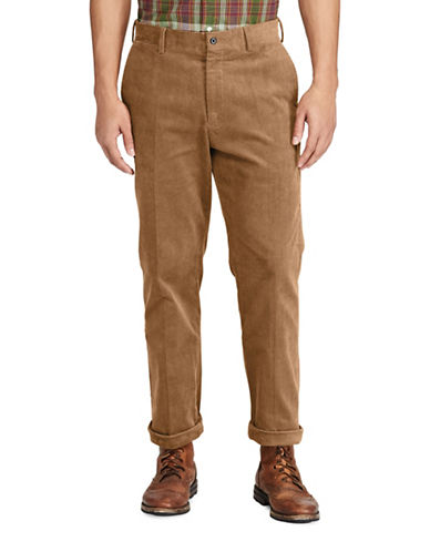 Polo Ralph Lauren Stretch Classic Corduroy Pants-BROWN-40X32