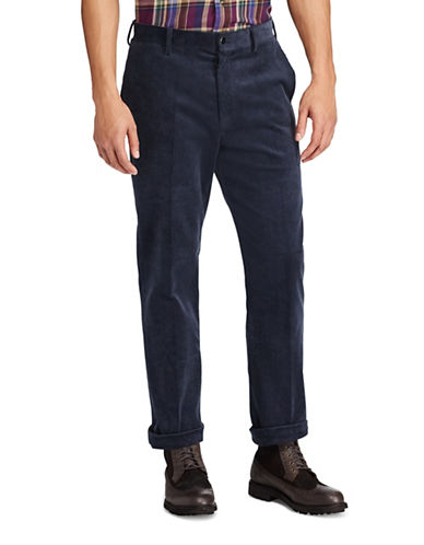 Polo Ralph Lauren Stretch Classic Corduroy Pants-BLUE-40X30