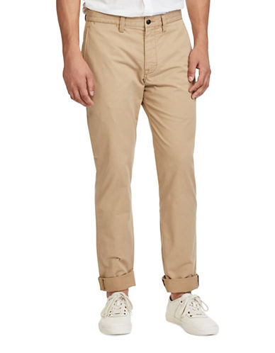 Polo Ralph Lauren Stretch Straight Fit Chino-BEIGE-36X32