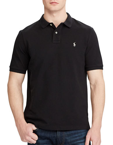 Polo Ralph Lauren Classic-Fit Mesh Polo-POLO BLACK-Small