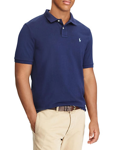 Polo Ralph Lauren Classic-Fit Mesh Polo-NEWPORT NAVY-X-Large