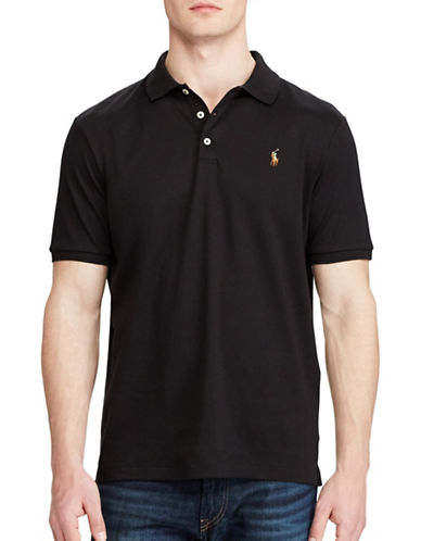 Polo Ralph Lauren Classic Fit Cotton Soft-Touch Polo-POLO BLACK-Large