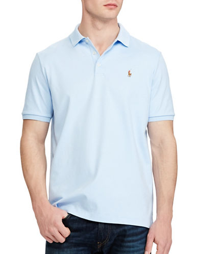 Polo Ralph Lauren Classic Fit Cotton Soft-Touch Polo-ELITE BLUE-Large