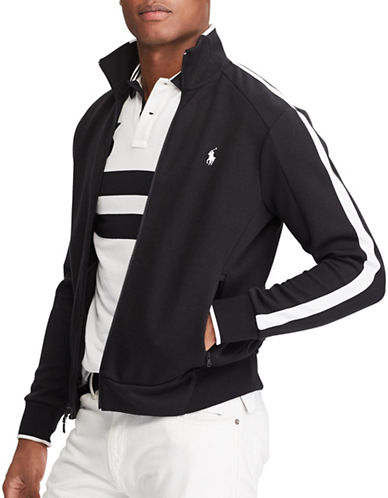 Polo Ralph Lauren Double-Knit Track Jacket-POLO BLACK-XX-Large 89287013_POLO BLACK_XX-Large