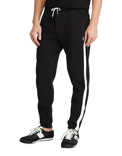 Polo Ralph Lauren Double-Knit Track Pants-POLO BLACK-X-Large