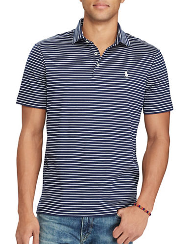 Polo Ralph Lauren Classic-Fit Soft-Touch Polo-BLUE-XX-Large