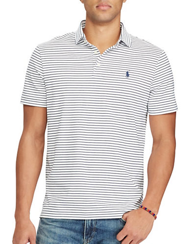 Polo Ralph Lauren Classic-Fit Soft-Touch Polo-WHITE-Large