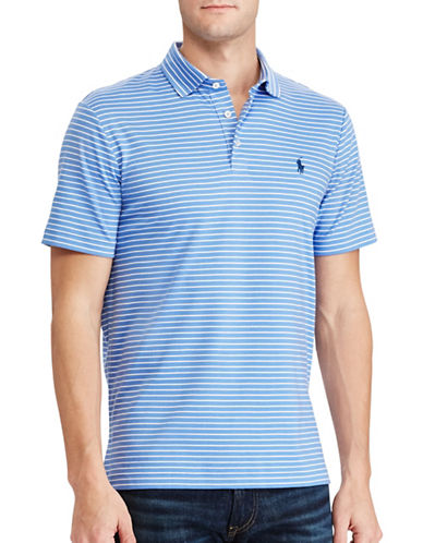 Polo Ralph Lauren Classic-Fit Soft-Touch Polo-LIGHT BLUE-Large