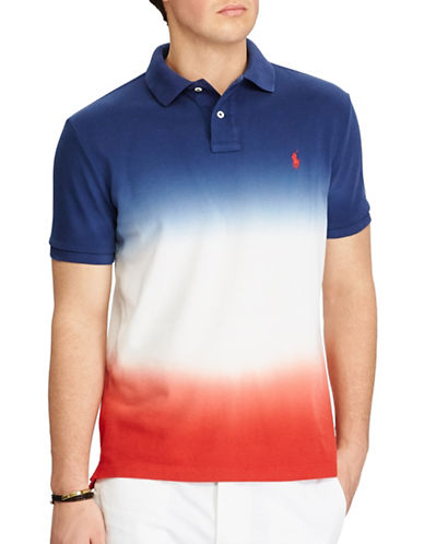 Polo Ralph Lauren Custom Slim-Fit Cotton Polo-MULTI-COLOURED-X-Large