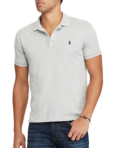 Polo Ralph Lauren Custom Slim- Fit Spa Terry Polo-GREY-X-Large 89246254_GREY_X-Large