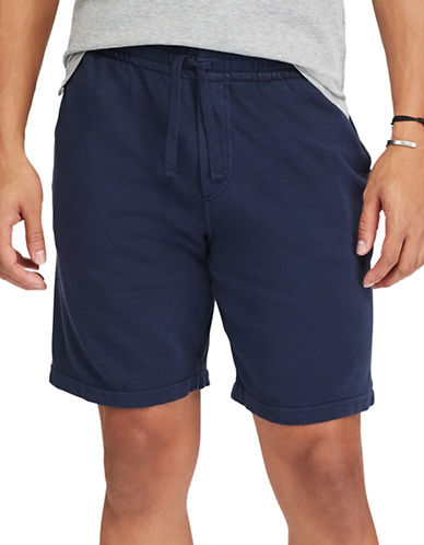 Polo Ralph Lauren Classic Cotton Spa Terry Shorts-BLUE-X-Large 89246259_BLUE_X-Large