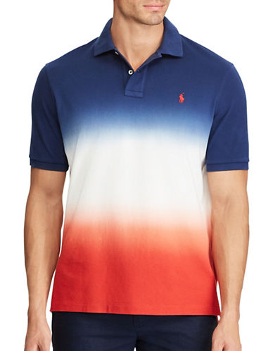 Polo Ralph Lauren Cotton Mesh Polo-DARK COBALT-2X Tall