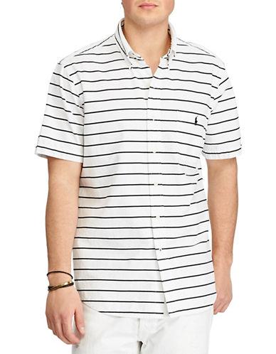 Polo Ralph Lauren Standard-Fit Cotton Shirt-WHITE-Large