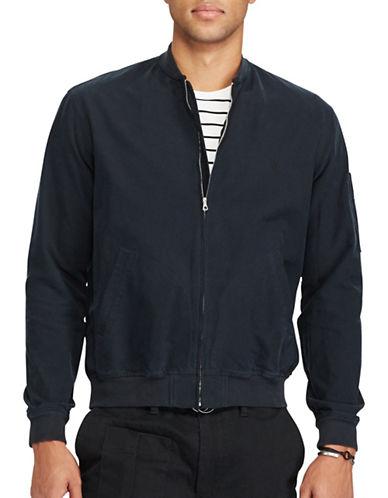 Polo Ralph Lauren Oxford Bomber Jacket-POLO BLACK-Medium 89287109_POLO BLACK_Medium