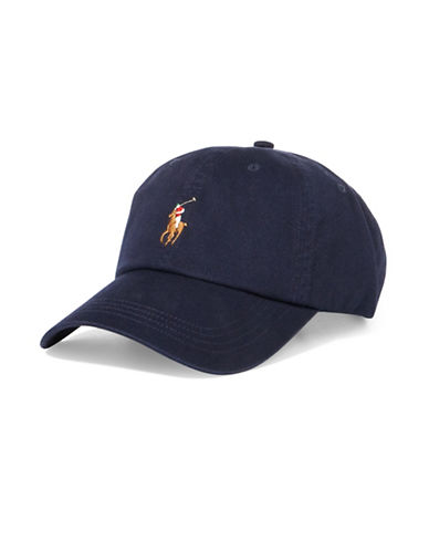Polo Ralph Lauren Classic Chino Sports Cap-BLUE-One Size