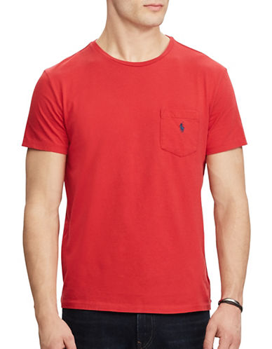 Polo Ralph Lauren Classic Fit Cotton Tee-MARTIN RED-XX-Large