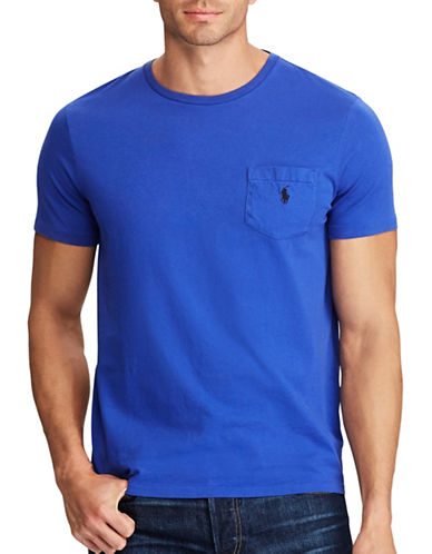 Polo Ralph Lauren Classic Cotton Tee-BLUE-4X Tall