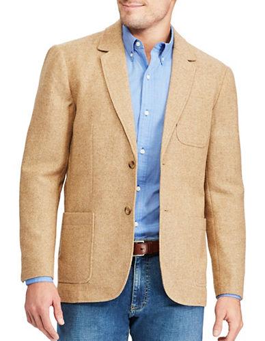 Chaps Herringbone Sports Coat-BEIGE-Medium