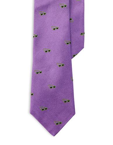 Lauren Ralph Lauren Sunglasses Silk Tie-PURPLE-One Size
