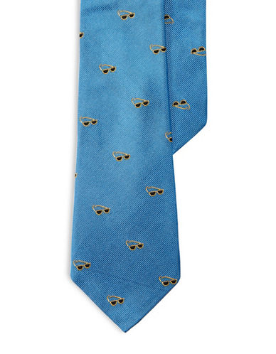 Lauren Ralph Lauren Sunglasses Silk Tie-BLUE-One Size