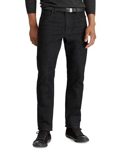 Polo Ralph Lauren Prospect Straight Jeans-BLACK-40X30