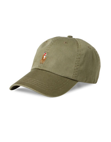 Polo Ralph Lauren Classic Chino Sports Cap-GREEN-One Size