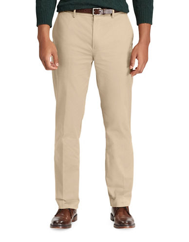 Polo Ralph Lauren Stretch Classic Fit Chino Pants-BEIGE-42X34
