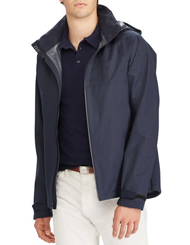 Polo Ralph Lauren 2.5 Ripstop Waterproof Jacket-NAVY-Medium