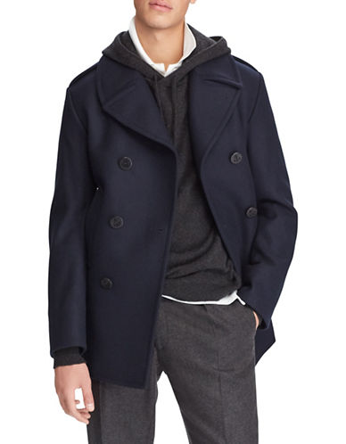 Polo Ralph Lauren Modern Wool-Blend Peacoat-NAVY-38