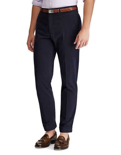 Polo Ralph Lauren Stretch Chino Trousers-NAVY-32X33