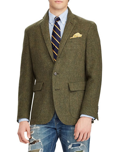 Polo Ralph Lauren Collins Wool Twill Sport Coat-GREEN-44