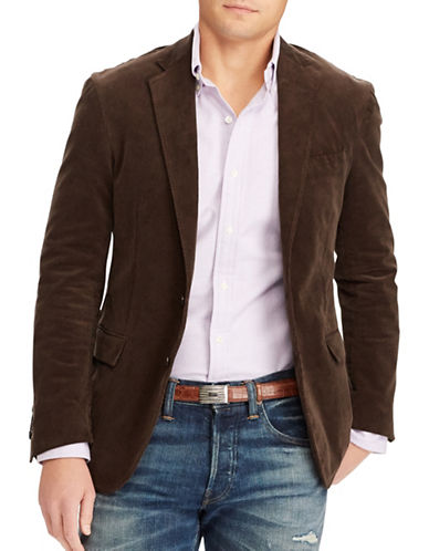 Polo Ralph Lauren Collins Easy-Fit Corduroy Sport Coat-BROWN-40