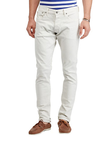 Polo Ralph Lauren Sullivan Slim-Fit Jeans-CREAM-34X30