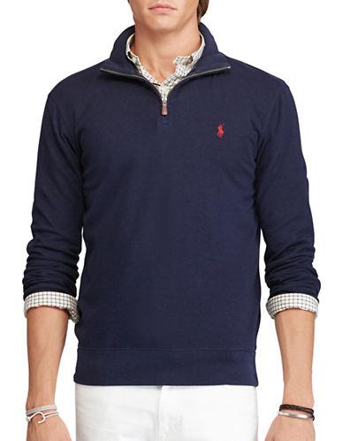 Polo Ralph Lauren Cotton Half-Zip Pullover-CRUISE NAVY-Large 88691550_CRUISE NAVY_Large