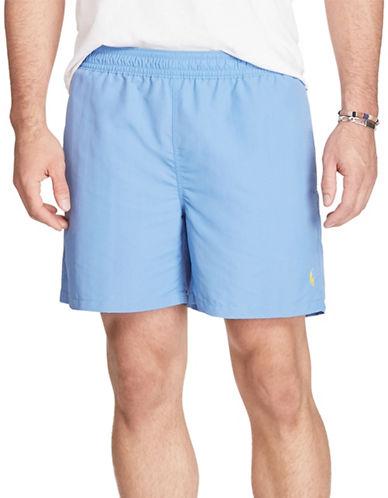 Polo Ralph Lauren Hawaiian Swim Trunks-SUMMER BLUE-5X Big