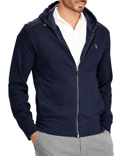 Polo Ralph Lauren Big and Tall Cotton Hoodie-BLUE-2X Big