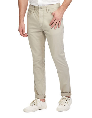 Polo Ralph Lauren Varick Slim Straight Pants-BEIGE-38X32