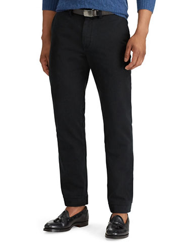 Polo Ralph Lauren Classic-Fit Cotton Chino Pants-BLACK-36X30