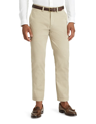 Polo Ralph Lauren Classic-Fit Cotton Chino Pants-BEIGE-42X30