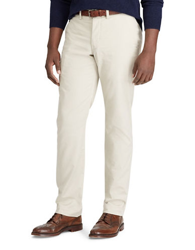 Polo Ralph Lauren Stretch Classic-Fit Chino Pants-BEIGE-36X36