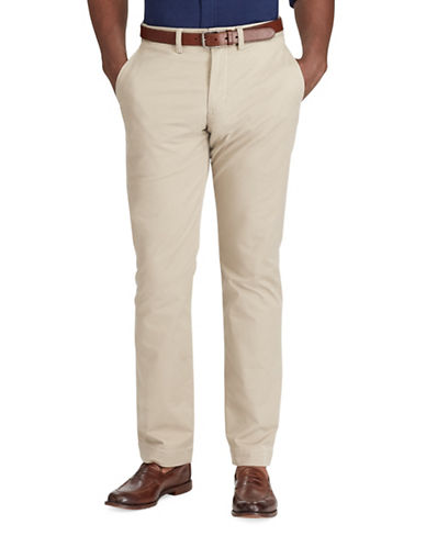 Polo Ralph Lauren Stretch Classic Fit Chino Pants-BEIGE-50X30
