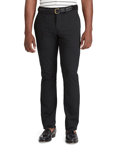 Polo Ralph Lauren Stretch Classic-Fit Chino Pants-BLACK-38X36