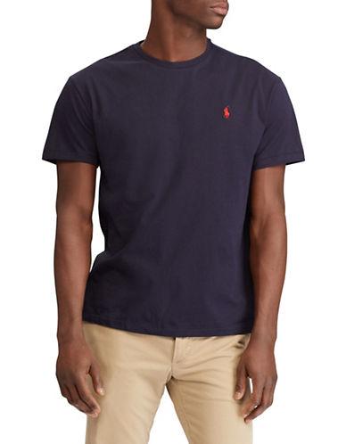 Polo Ralph Lauren Custom Slim-Fit Cotton T-Shirt-NAVY-X-Large 89820917_NAVY_X-Large