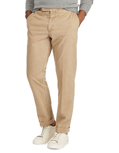 Polo Ralph Lauren Chino Trousers-GREY-40X34