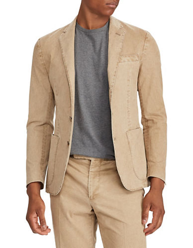 Polo Ralph Lauren Long Sleeve Chino Sportcoat-GREY-44
